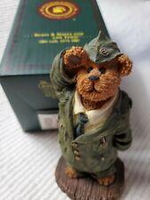 Boyds Bear Bearstone Billy Bearyproud When I Grow Up Military Figurine 228454 1E