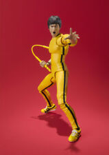 S.H.Figuarts Bruce Lee Yellow Track Suit Action Figure Toy Bandai SHF Xmas Gift