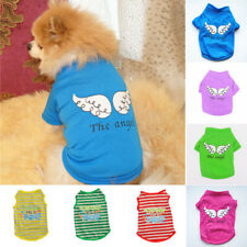 Small Dog Cat Clothes Cute Puppy Cat Kitten T-shirt Summer Vest Shirt Apparel