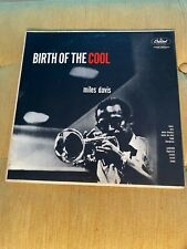 Miles Davis; Birth of the Cool, Capitol T762, turquoise; OG MONO copy