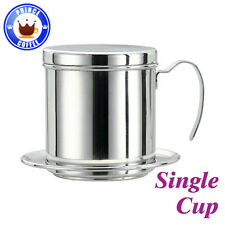 AMOUR Stainless Steel Vietnamese Coffee Drip Filter Maker Brewer