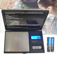 Digital Scale 1000g x 0.1g Jewelry Kitchen Weight Food Pocket Electronic Balance