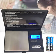 Weigh Gram Scale Digital Pocket Scale1000g by 0.01g Jewelry Scale battery includ