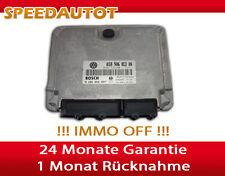 unità di controllo del motore IMMO FREE VW SEAT 1,9 SDI 038906013an 0281010007