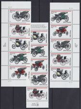 USA Mi Nr. 2679 - 2683 ** 3x 5er Streifen, Oldtimer, postfrisch, MNH