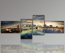 WANDBILD 120x80 Sonnenuntergang Abend Meer Urlaub Panorama DESIGNBILDER