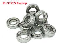 ABEC5 3x8x4mm Bearings for DJI 2212, S693ZZ (10pcs), FREE SHIP