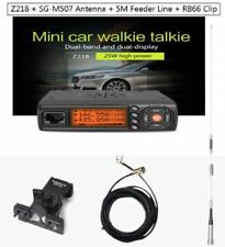 Zastone Car Walkie Talkie VHF UHF Mobile Radio HF Transceiver 2 Way Ham Antenna