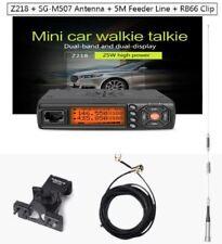 Zastone Car Walkie Talkie VHF UHF Mobile Radio HF Transceiver 2 Way Ham Antenna