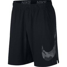NIKE FLEX WOVEN GFX TRAINING SHORTS DRI FIT BLACK MEN'S 4XLT 4XL TALL AND BIG
