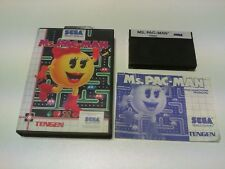 MS. PAC-MAN master system