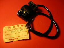 NOS OEM NEW ORIGINAL HONDA TL125 TL250 MR250 LIGHTING SWITCH 35300-373-671
