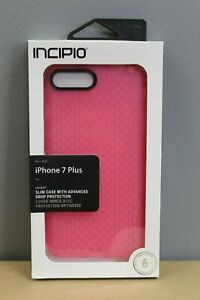 Incipio - Haven Case for Apple® iPhone® 7 Plus - Highlighter Pink/Candy Pink