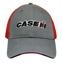 Case IH *GRAY & RED MESH* TRADEMARK LOGO Hat Cap *NEW!* CIH56