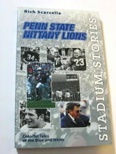 Stadium Stories Penn State Nittany Lions Colorful Tales of Blue&White Scarcella.