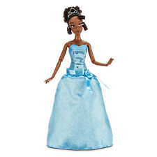 "2015 Disney Store Classic Tiana Doll 12"" NIB The Princess and the Frog"