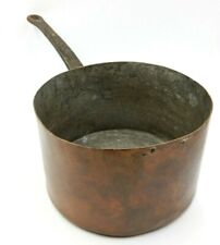 VINTAGE LARGE COPPER HAND FORGED HAND MADE 9.5