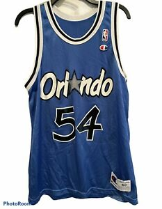 Vintage Champion Horace Grant Jersey Orlando Magic NBA VTG90 Size 40 Blue