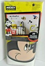 Mickey Mouse RoomMates 20 WALL DECALS Peel & Stick 90 Years Of Magic Disney NEW