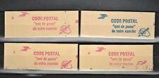 3 Carnets 2376-C 2a et 1 carnet 2376-C1 côte 90€