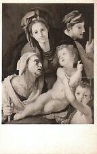Postcard Pontormo Holy Family w St John Baptist & St Ann Nat'l Gallery Wash DC