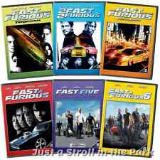 The Fast and & The Furious: komplette Filme 1 2 3 4 5 6 Collection Box/DVD Sets