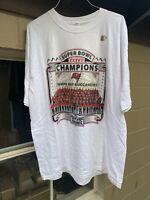 New Tampa Bay Buccaneers Vintage Super Bowl XXXVII Champions Shirt Size  XL 2003