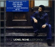 """CD NEUF -  Lionel RICHIE """" Just For You  """" 13 titres """""""