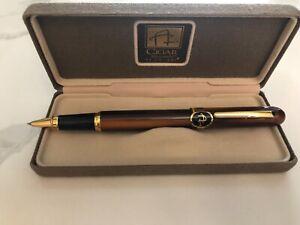 COLIBRI BALLPOINT PENS~ Ink pens set~ Gold~ Vintage Collection pens~ Colibri of London~ Original case~ Office accessory~ Gift