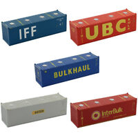 HO Scale 30ft Containers Shipping Container Freight Cars Model Railway C8736