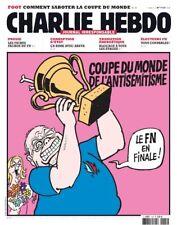 charlie hebdo 1047 coupe du monde de l'antisémitisme