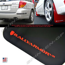 RALLY ARMOR UR BLACK MUD FLAPS FOR 2005-2009 SUBARU LEGACY OUTBACK w/ RED LOGO