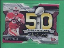 *2014 topps Super Bowl on the Fifty STEVE YOUNG no.SBDC-SY