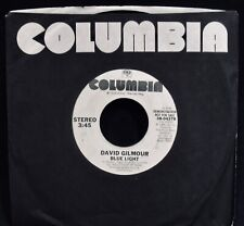 DAVID GILMOUR: Blue Light~Promotional Only 45~COLUMBIA  #38-04378~PINK FLOYD