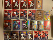 365x Huge Card Lot Sammy Sosa Refractor Game Used Relic Insert 11x Refractors