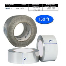 Industrial Grade Aluminum Foil Tape 2 Inches X 150 Ft Self Adhesive