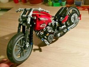 378 PCS Technic Motorcycle Building Blocks Set Popular Educational Kit Motorbike