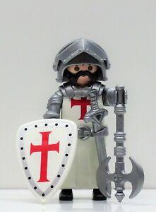 SCHWERER RITTER - KREUZRITTER TEMPELRITTER C PLAYMOBIL zu Crusader Templer RAR !