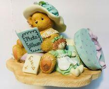 Very Rare Cherished Teddies 308684 Lauren Photo Album Diary Hat Box Doll Books 9