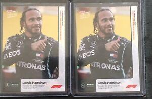 2020 Topps Now #3 Lewis Hamilton