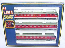 "Lima HO 1:87 DB VT 613 ""EGGHEAD"" 1968 DMU DIESEL MULTIPLE 3-UNIT Train SET MB`89"
