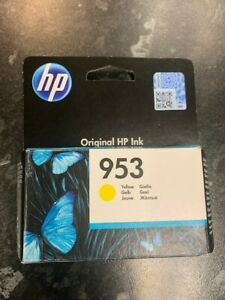 Genuine HP 953 Yellow Ink Cartridges For HP OfficeJet Pro - EXP 2023