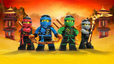 Lego Ninjago Iron On Transfer Light or Dark Fabrics 5 x 7 Size