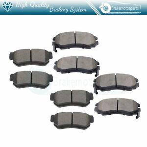 Front Ceramic Brake Pads for 10-15 Hyundai Tucson 11-16 Kia Sportage 07-12 Rondo
