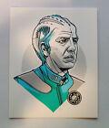 Tyler Stout Dr. Lazarus Alan Rickman Galaxy Quest handbill Pros and Cons art