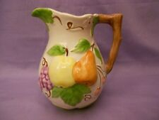 Jay Willfred Andrea  by Sadek Ceramic Pitcher / Fruit Relief Made in Portugal