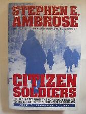 AMBROSE CITIZEN SOLDIERS ED. SIMON & SCHUSTER