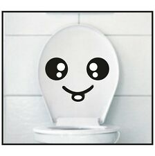 Smiley Novelty Toilet Decal Funny Children Smile Potty Training