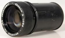 BAUSCH   LOMB BALCOTED 7 INCH F/3.5 ANASTIGMAT LENS