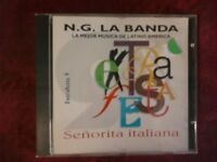 N.G. LA BANDA- SENORITA ITALIANA (7 TRACKS, 1994). CD